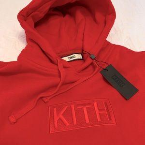 NWT Kith Box Logo Hoodie